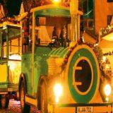 Fahren Sie mit dem Weihnachts-Express