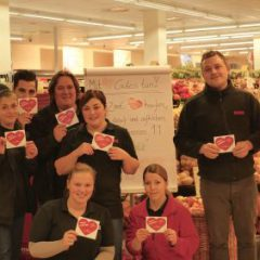 Heart foREWEr… im REWE-Markt Wintgens in Bensberg