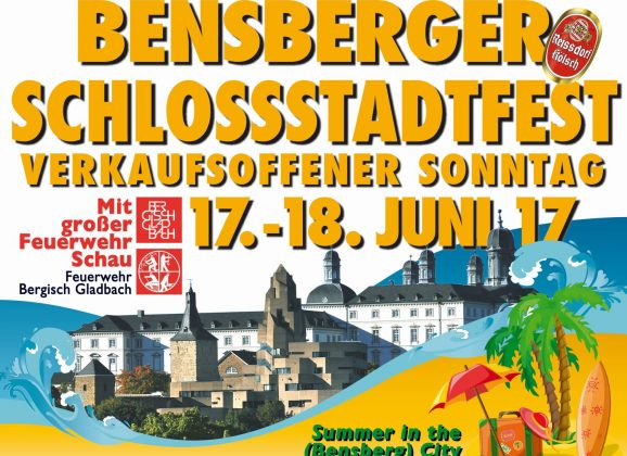 Schlossstadtfesst 2017 – Summer in the [Bensberg] city
