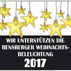 Die IBH sagt DANKE für die Unterstützung der Weihnachtsbeleuchtung