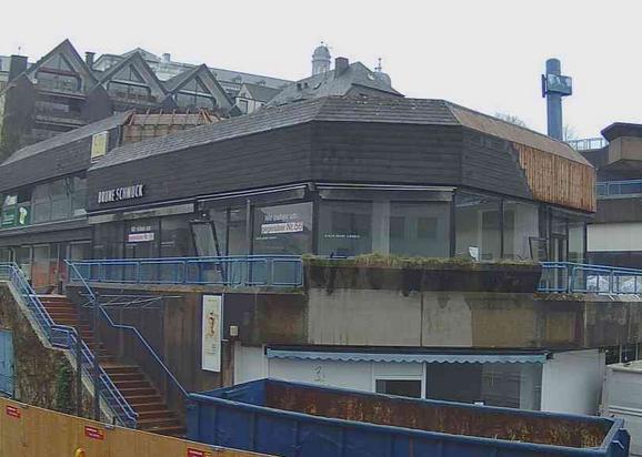 IBH begleitet Baumaßnahme des Investors Centerscape an der Schloßstraße mit eigener Webcam – Stadtverwaltung und Freifunk unterstützen