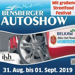 Bensberger Autoshow am 31. August/1. September mit Streetfoodfestival