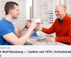 Optik-Wolf  – Ihr Augenoptiker in Bensberg jetzt mit Online-Shop