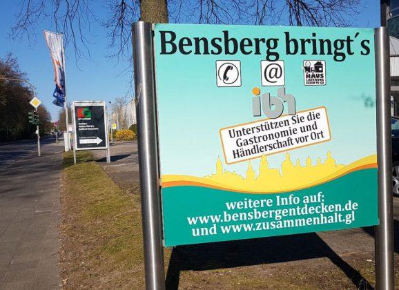 Bensberg bringt´s – Hauslieferung – Essen To Go