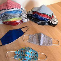 Die Einkleider –  Mund/Nasenmasken im Sortiment!