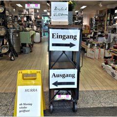 Wieder geöffnet: Daubenbüchel Tisch & Trend – Ab Montag,  20. April,