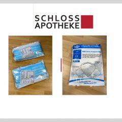 Schloss Apotheke: Masken zum Selbstkostenpreis!