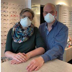 Optik Wolf:  Wir führen wieder Augenglasbestimmungen durch