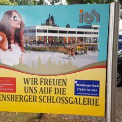Schlossgalerie -Treppe im Ausbau – Geschäfte komplett!