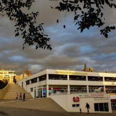 Schlossgalerie – Treppe frei gegeben