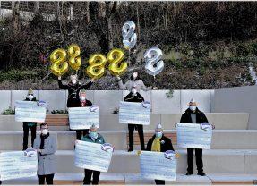 Bensberger Bank: 8.888,88 Euro für Karnevalsvereine